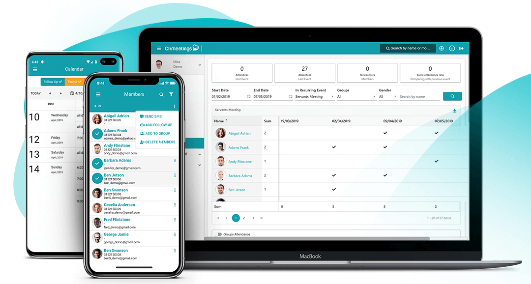 Cloud Based Church Management Software